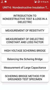 High Voltage Engineering screenshot 3