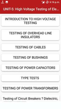 High Voltage Engineering screenshot 6