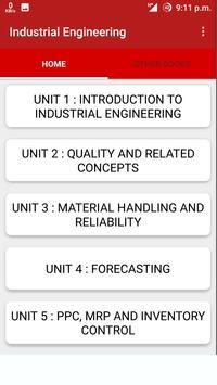 Industrial Engineering poster