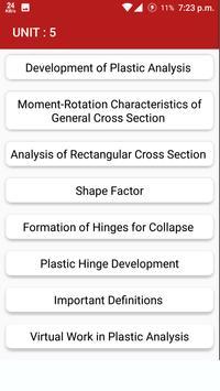 Structural Analysis apk screenshot