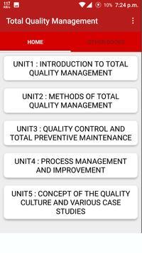 Total Quality Management : TQM poster