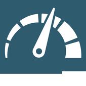Calculate fuel consumption icon