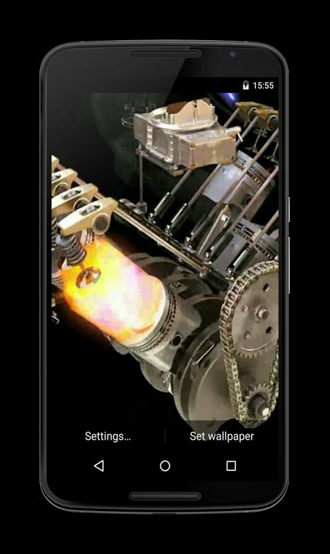 Engine 3D Live Wallpaper for Android - APK Download