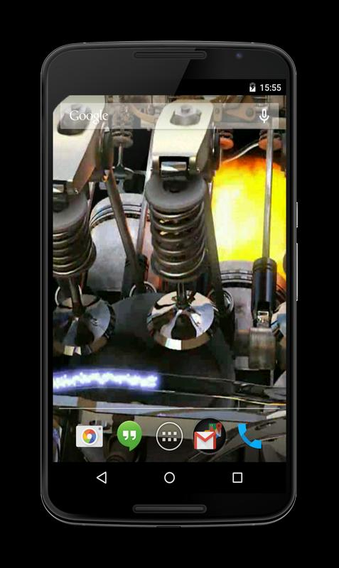 wallpaper android engine: Engine 3D Live Wallpaper For Android