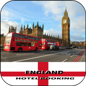 England Hotel Booking icon