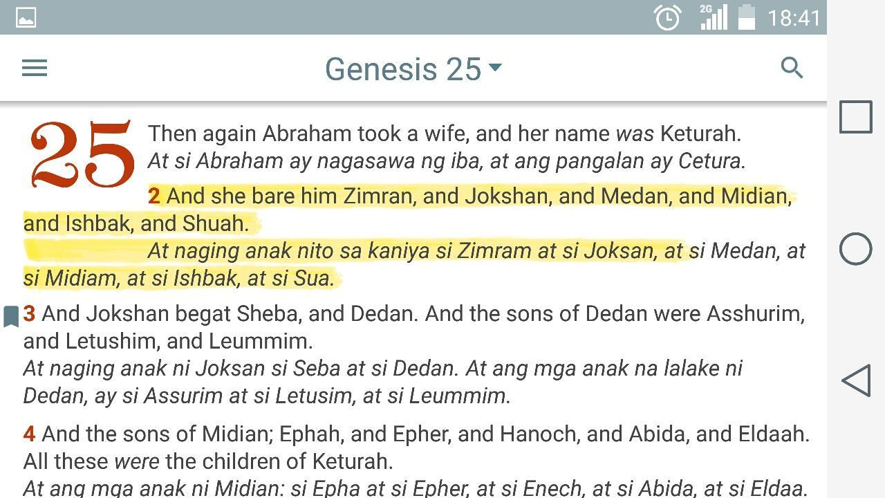 English Tagalog Bible Offline for Android - APK Download