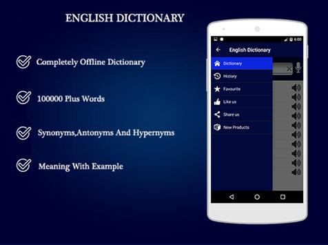 English to English Dictionary - Offline poster