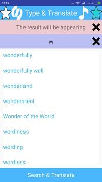 English to Japanese Translator apk screenshot