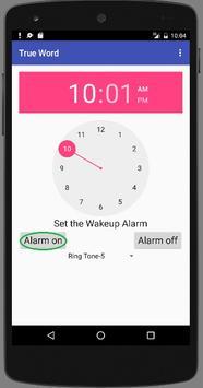 Trueword WakeUp Call English apk screenshot