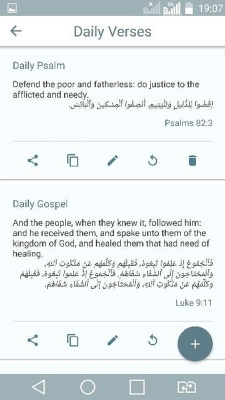 arabic english bible pdf download