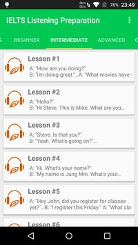 IELTS Listening Preparation-Listen English for TED screenshot 1