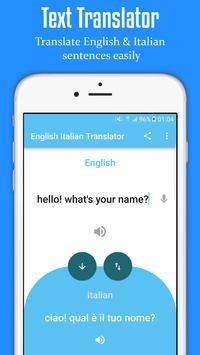 English Italian Translator poster