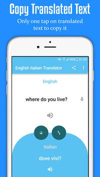 English Italian Translator screenshot 2