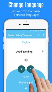 English Italian Translator screenshot 3