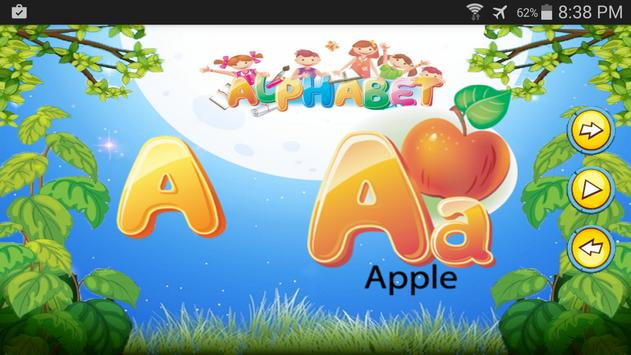 English Learning ABC Kids Free poster
