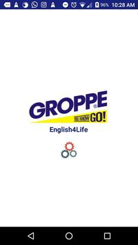 Groppe English4Life poster