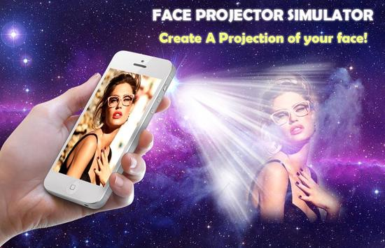 Face Projector Simulator poster