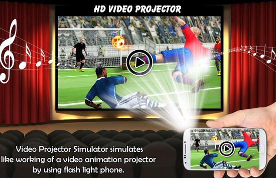 Video Projector Simulator poster