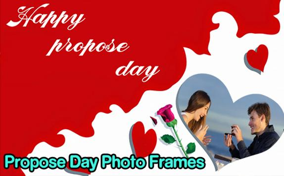 Propose Day Photo Frames screenshot 3