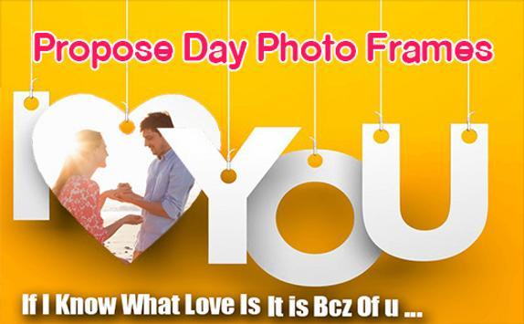 Propose Day Photo Frames screenshot 4