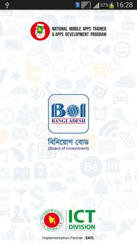 Board of Investment Bangladesh poster