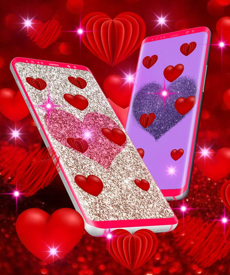 I Love You Hearts Live Wallpaper For Android Apk Download