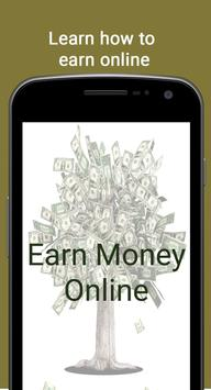 How to make money online - Work from home poster