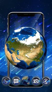 3d Earth Meteor Theme apk screenshot