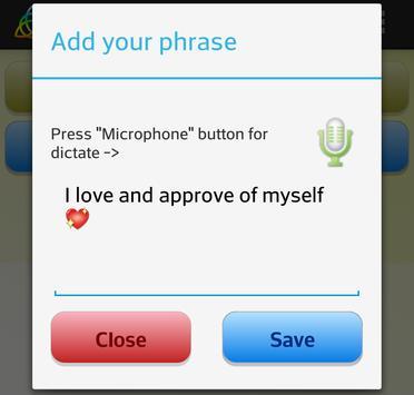 Аffirmations for Happy apk screenshot