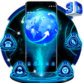 3D Tech Earth icon