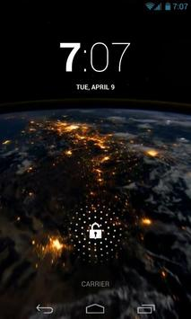 Earth At Night HD Live Wallpap screenshot 1