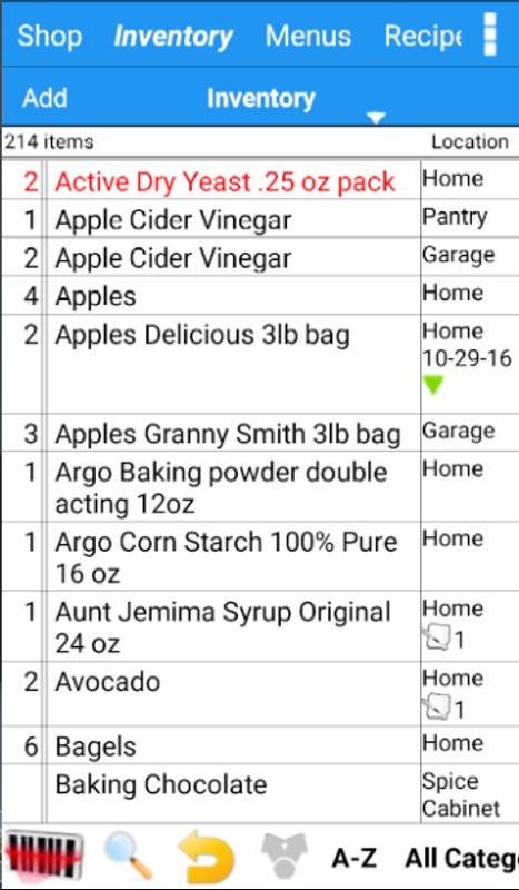 grocery tracker shopping list for android apk download
