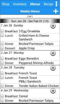 Grocery Tracker Shopping List apk screenshot