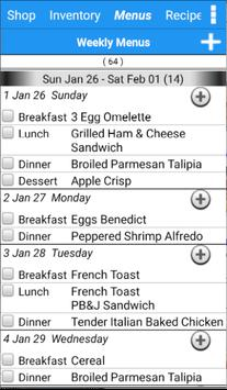 Grocery Tracker Shopping List apk screenshot
