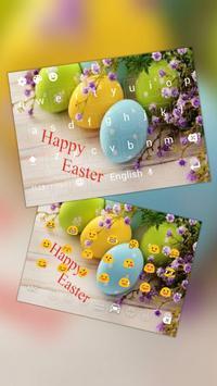 Easter Eggs Keyboard poster