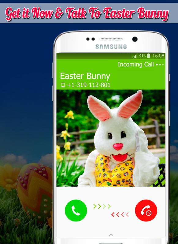 Real easter bunny call 2017 apk real easter bunny for Call the easter bunny phone number