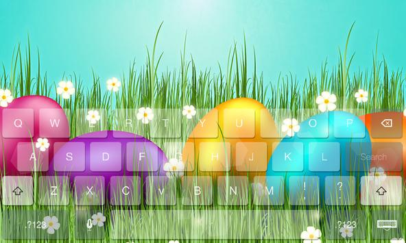 Easter Beauty Theme Keyboard poster