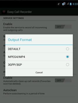 Easy Call Recorder screenshot 3