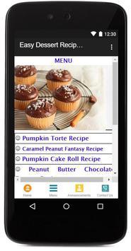 Easy Dessert Recipes screenshot 1