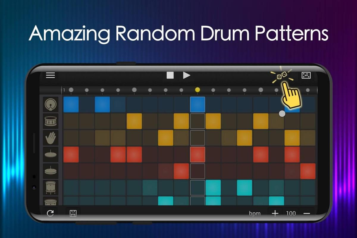 easy drum machine beat machine drum maker for android apk download. Black Bedroom Furniture Sets. Home Design Ideas