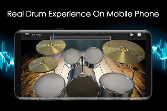 Easy Jazz Drums for Beginners: Real Rock Drum Sets screenshot 1