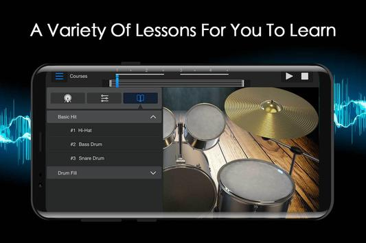 Easy Jazz Drums for Beginners: Real Rock Drum Sets screenshot 2