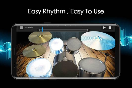 Easy Jazz Drums for Beginners: Real Rock Drum Sets screenshot 3