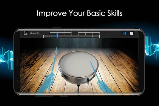Easy Jazz Drums for Beginners: Real Rock Drum Sets screenshot 4