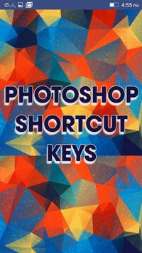PS Shortcut keys to learn poster