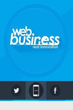 Web Business poster