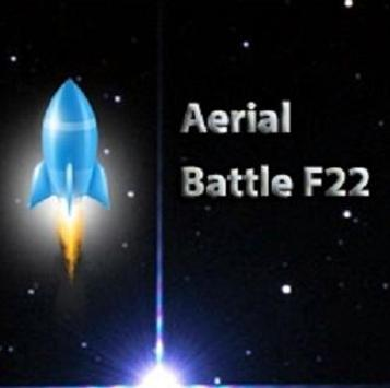 Aerial Battle F22 poster