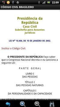 Código Civil Brasileiro GRÁTIS apk screenshot