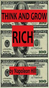 Think and Grow Rich - N. Hill poster