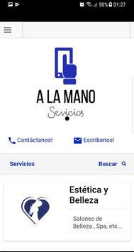 A la Mano poster